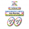 Sequins Student School Labels Pack
